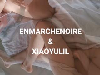 XIAOYULIL&ENMARCHENOIRE made fantastic BLOWJOB in Paris