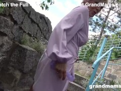 Granny Hasn't Had an Orgasm in Ages!