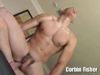 Corbin Fisher – Straight stud Trevor fucks a guy for the first time, boning Brent