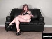 Alt Inked Red Head Misty Dawn Gets Her Pretty Pink Starfish Ass Packed!