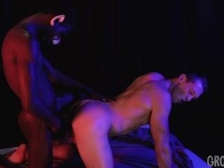 Naughty Werecat ass drilled muscle hunk