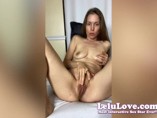 Porn VLOG behind the scenes cummy toes crotchless pantyhose boxing in heels masturbating orgasm upskirt & more… – Lelu Love