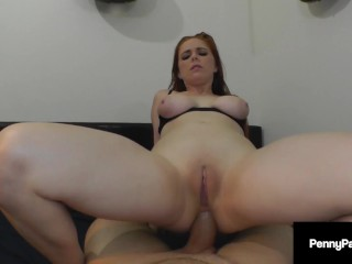 Romping Roomie Butt Fucks Pretty Penny Pax & With A Sticky Anal Creampie!