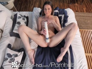 PASSION-HD Beautiful Brunette Gives A Sex Workout