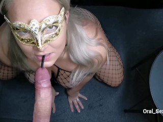 Gloryhole, Sounding, Vibrator CUMSHOT. Straight to the mouth, gargled and all SWALLOWED!