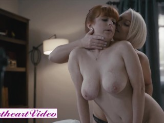 Sweet Heart Video – Headmistress Helena Locke And Penny Pax Eat Each Other's Pussies In The Office