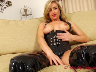 Naughty Sensual Melanie Shows Why She Is A Manipulative Mistress As She Tempts Your Warped Mind