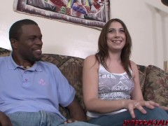 College Student Aza gets her Pussy Plugged by a BBC on Campus