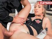 HerLimit - Venom Evil Hot Ass Spanish Teen Deepthroat And Rough Anal Sex From A Huge White Cock - LETSDOEIT