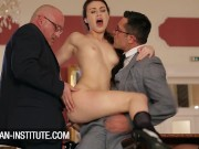 Tiffany Doll double penetrated by two older guys