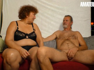 XXXOmas – Horny German Mature Sucks And Fucks Her Old Lover On Camera – AMATEUREURO