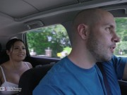 Trickery - Driver Tricks Busty Serena Santos Into Hot Sex