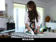 Busty Stepmom Emily Addison Gives Her Son A Sex For Breakfast