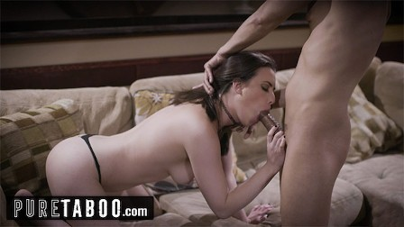 PURE TABOO Casey Calvert fucks another guy while her men is on the line