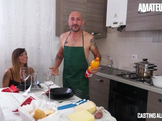 CastingAllaItaliana – Sexy Italian MILF Hardcore Anal Banging With Huge Dick – AMATEUREURO