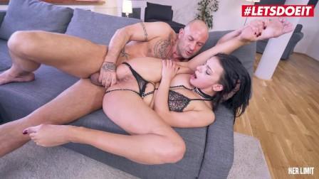 HerLimit - Sophia Laure Horny French Brunette Rough Anal Fucking With Kinky Stranger - LETSDOEIT