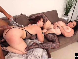 Dominating Dick Super Fucks Big Busty Babes Sara Jay & Angelina Castro!
