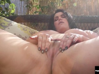 Dirty Talking Latina Angelina Castro Fingers Her Pussy While Sucking Cock!