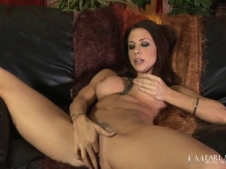 Busty Chanel Preston Dildo Drills Her Pussy In Wet Masturbation Session!