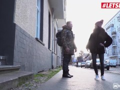 HornyHostel - Oxana Chic Stunning Ukrainian Teen Seduces And Fucks Cheating Boyfriend - LETSDOEIT