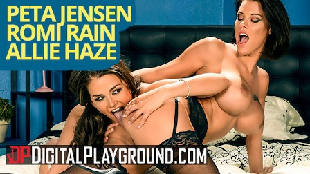 Digital playground - Peta Jensen Romi Rain  and Allie Haze in porn parody
