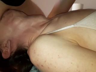Beth Queen throat fuck with amazing bulge