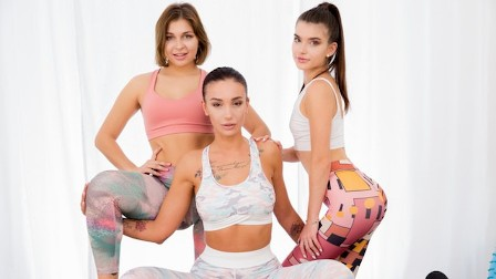 Yoga And Anal Sex Between Ladies