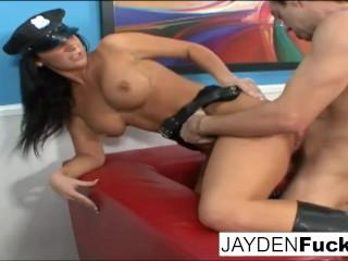Jayden Jaymes the sexy cop!