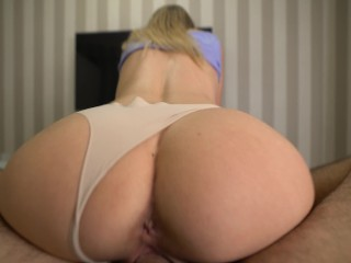 Perfect Teen Girlfriend Gets Fucked and Filled With Cum – We Cum Together 4K