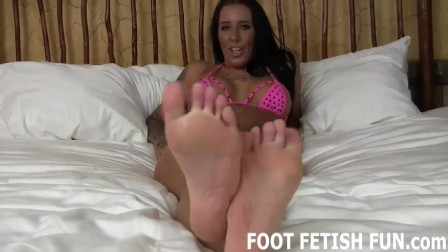 Foot Fetish Femdom And POV Domination Porn