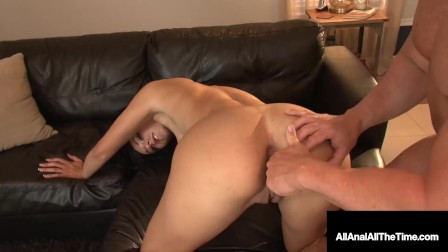 Amazing Rimjob For Young Gorgeous Danica James Before Packing Her Ass Hole!