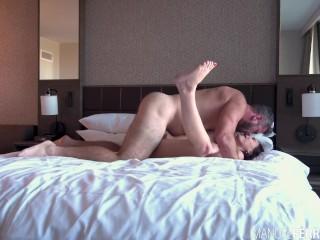Vivacious Violet Starr In Raw Hotel Fuckfest With Manuel Ferrara