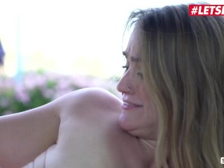 ScamAngels – Katrina Jade & Kenzie Madison Big Booty American Sluts Hot Outdoor Threesome Sex With Thick Cock Husband