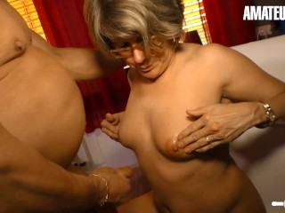 HausfrauFicken – Sexy German Mature Intense Pussy Fuck With Kinky Old Guy – AMATEUREURO