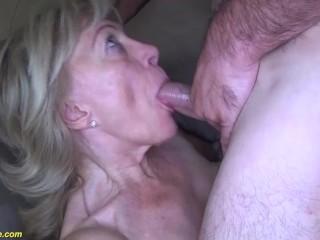 horny grandma first time big dick fucked