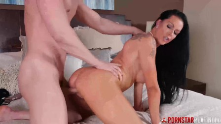 Busty MILF Spreads Her Legs For Big Cock