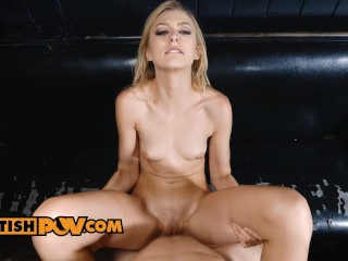 Alexa Grace does anything to get the job