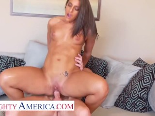 Naughty America – Mischa Brooks is ready to fuck her sugar daddy's brains out
