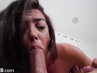 Rachel Rivers' Dirty & Deep Throat Fuck
