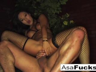Anal Between Asian Asa Akira & Toni