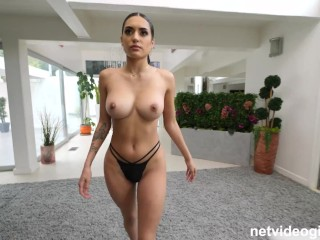 A Latina so hot you will thank your lucky stars you get to see her fucking on net video girls