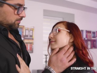 Straight in the ass – Red head Wet Everything & Get Ass Bang