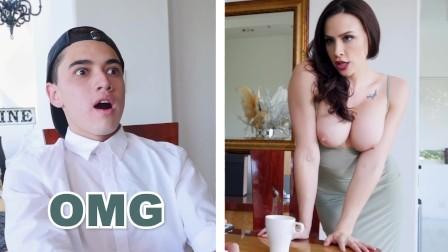BANGBROS - Big Tits Cougar Chanel Preston Rides Daughter s Boyfriend s Big Cock