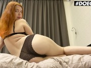 DoeGirls - Kate Utopia Hot Ass Belarusian Redhead Rubs Her Pussy And Masturbates With Her Toys Durin