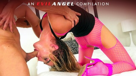 Gag Reflexes and Messy Cumshots Compilation - Evil Angel