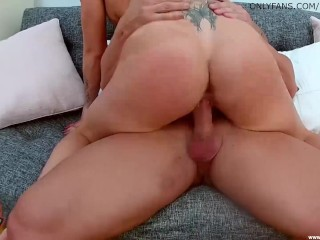 LUKE HARDY – Tight Victoria coats every inch of dick n' balls with drool