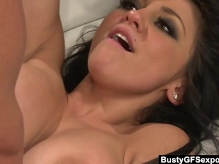 Hot MILF Audrey Bitoni Seduces Tommy Gunn Into Selling His Business