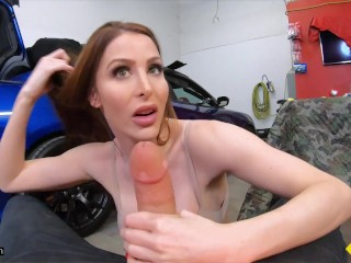 Roadside – Sexy Brianna Rose Bounces On Mechanics Dick