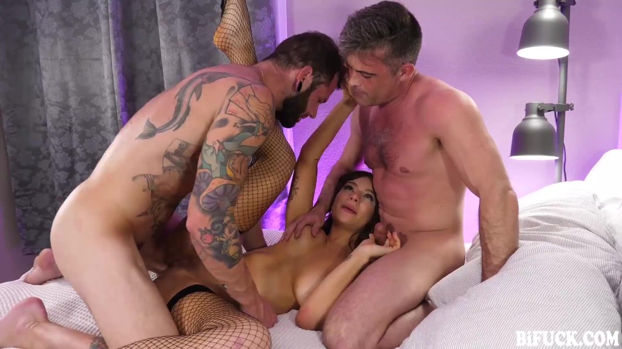 April Olsen, Johnny Hill And Lance Hart Team Up Together For a MMF