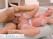 Naughty America - London River takes a BBC inside her